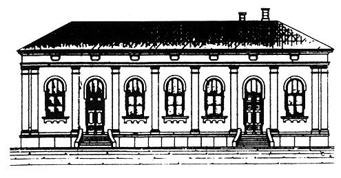 Synagoge um 1900