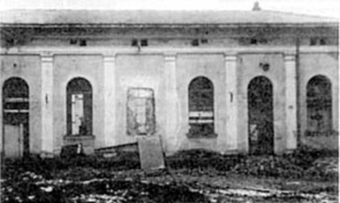 Salzburger Synagoge 1946